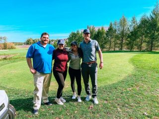 Monday was a great day for a round of golf with our local vendor partners at the @crancountry Golf Open @lebaronhillscountryclub! Thank you to our partners at RenovateResidential, CertaPro Painters and ProGroup for some wonderful company and laughs on the course! 🏌🏼♂️• • • #socolivingma #lovesocoliving #soco #southcoastma #cranberrycountrychamber #networking #golf #golftournament #vendors #partners #massachusetts #southcoast #lakevillema